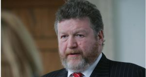 "Minister for Health James Reilly said: ""The finding that 35 per cent of the over-50s are obese, with a further 44 per cent overweight is another serious cause for concern"". Photograph: Bryan O'Brien/ The Irish Times"