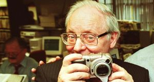 "Irish Times photographer Paddy Whelan: ""always came back with magical pictures"". Photograph: Frank Miller"