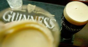 Net sales of Guinness declined by 6 per cent in Ireland due to the warm summer