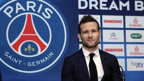 Done deal: Newcastle banked more than €22 million when they let the want-away midfielder Yohan Cabaye leave for the French champions and league leaders PSG earlier this week. Photograph: Thierry Chesnot/Getty Images