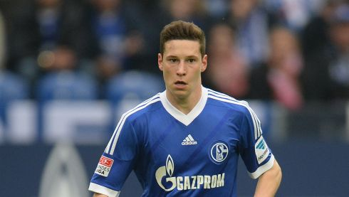 Could happen:  Arsenal boss Arsene Wenger is understood to be a long-term admirer of Schalke attacking midfielder Julian Draxler (20), who could be on the move in a deal worth more than €30 million. Photograph: Patrik Stollarz/AFP