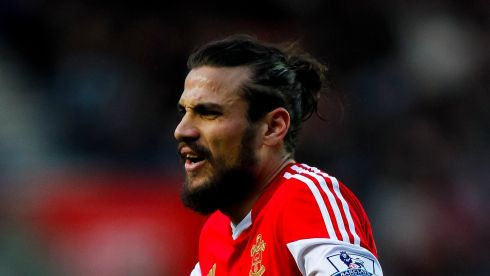 Could happen:  Italian forward Dani Osvaldo is expected to leave Southampton, just months after signing for more than €15 million, following a reported training ground bust-up with defender Jose Fonte. Inter, Juventus and West Ham are apparently willing to take a cut-price punt on the former Roma man. Photograph: Chris Ison/PA Wire