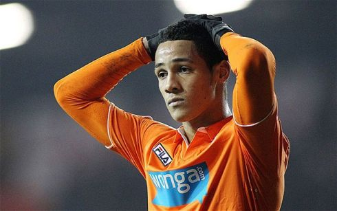 Could happen:  Cardiff, Sunderland, Hull, Swansea and Liverpool are among the clubs who have been linked with the Engalnd under-21 attacking midfielder Tom Ince who looks poised to leave Blackpool before the deadline. Photograph: Reuters