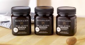 Manuka honey from Watson & Son