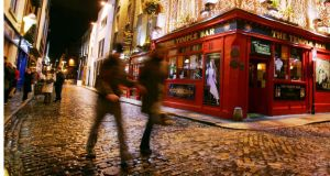 Maybe the intrepid winter tourists think this city is romantic and characterful and boho. Photograph: Bryan O'Brien