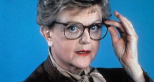 Angela Lansbury as Jessica Fletcher, the meddling detective in Murder, She Wrote' in  1984. Photograph:  CBS/Getty Images