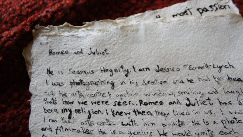 Romeo And Juliet Style Love Letter