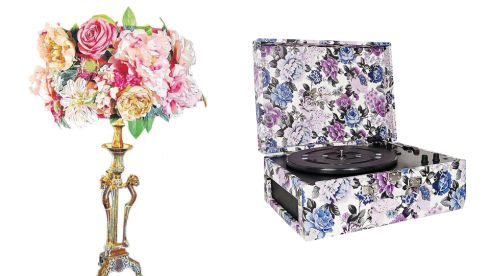 Cornucopia shade, €225.20 (inc. P&P), Couch GB at notonthehighstreet.com Crosley Keepsake Turntable, €160, Urban Outfitters