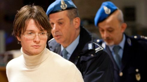 Raffaele Sollecito during a murder trial court session in Perugia on December 3rd, 2009.  Photograph: Max Rossi/Reuters