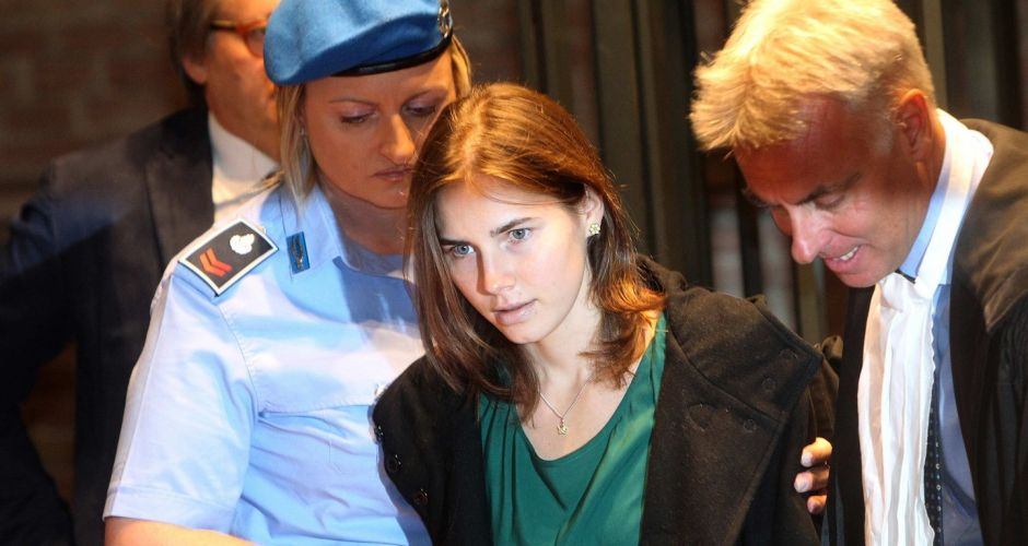 Guilty verdict for Amanda Knox