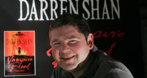 Photograph: Brenda Fitzsimons....Author Darren Shan photographed at his home in Limerick.