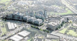 Green REIT and US real estate giant Kennedy Wilson are in pole position to acquire the office and apartment blocks in Leopardstown