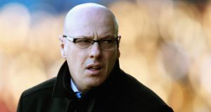 Brian McDermott is no longer manager of Leeds United. Photograph:    Matthew Lewis/Getty Images