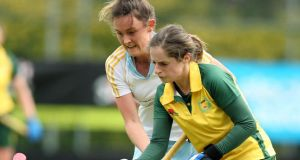 Emer Lucey: scored two goals for Railway Union against  Ballymoney. Photograph: Inpho