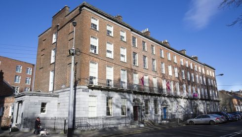 No. 1 Pery Square Hotel behind which is the Georgian House and Garden run by Limerick Civic Trust.  Photograph: Liam Burke/Press 22