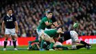 Ireland's Conor Murray has been singled out for special praise by Shaun Edwards. Photograph: Aidan Crawley/EPA