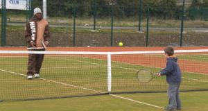 Anyone for tennis? Ratoath Tennis Club – enjoying the club today