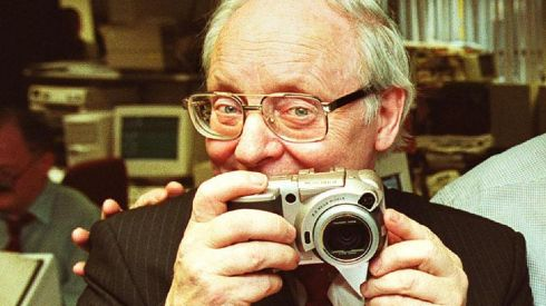 Paddy Whelan 1935-2014: Paddy Whelan was an Irish Times photographer for almost 30 years. He retired in Aprill 2000 and died last week, aged 78. This gallery celebrates his life with the lens. This image of Paddy is from his retirement celebration in 2000.