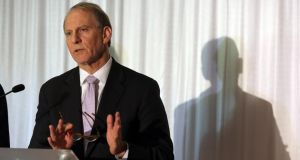 "Dr Richard Haass is to receive the Tipperary International Peace Award for 2013 for playing a ""very prominent and significant role in assisting the peace process in Northern Ireland"". Photograph: Paul Faith/PA Wire."