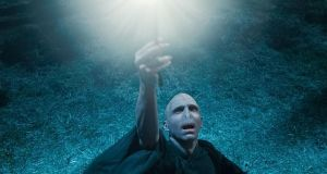 On screen: as Lord Voldemort in Harry Potter and the Deathly Hallows: Part 1