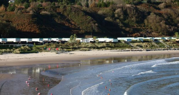 Jacks Hole Mobile Home Park Extends To 12 Acres Beside The Co Wicklow Beach