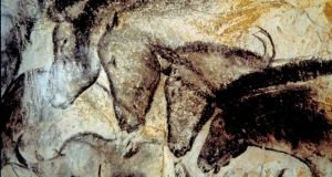Paleolithic cave paintings at Lascaux in southwest France