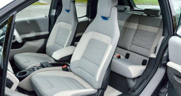 מבריק BMW's i3 electric has power and range, but stalls on price OO-84