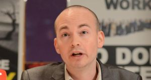 "Paul Murphy: said there was a ""real attack on the freedom of speech"" in Ireland. Photograph: Dara Mac Dónaill"