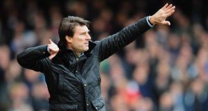 Michael Laudrup has become the fifth Premier League manager to lose his job this season. Photograph:  Mike Hewitt/Getty Images.