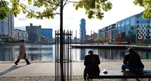 Grand Canal Dock in Dublin. Photograph: Eric Luke