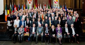 Annual meeting: Aosdána members at last year's general assembly, during Ireland's EU presidency. Photograph: Maxwell