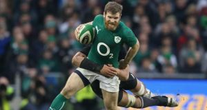 Gordon D'Arcy: the centre gave a superb display against New Zealand in November. Photograph: David Rogers/Getty Images