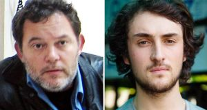 Hostages in Syria: Liberation newspaper journalist Didier Francois (left) and  French freelance photographer Edouard Elias. Photographs: Janine Haidar/Chris Huby/AFP/Getty Images