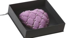 Chocolate heart from Cocoa Atelier, €15.95