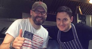 Roark Cassidy (left) and Phil Thomas are running a Love Shack Barbecue in Sandymount on February 14th and 15th