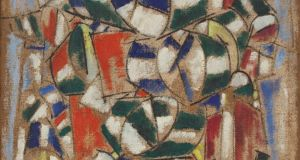The Fernand Léger painting which has been revealed a fake. Photograph: Guggenheim Venice