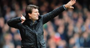 Michael Laudrup is taking legal advice over his sacking by Swansea. Photograph: Mike Hewitt/Getty Images