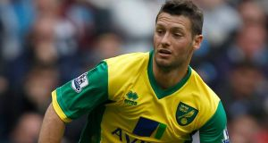 Norwich manager Chris Hughton has insisted Wes Hoolahan is committed to the Canaries' cause . Photograph: Dave Thompson/PA