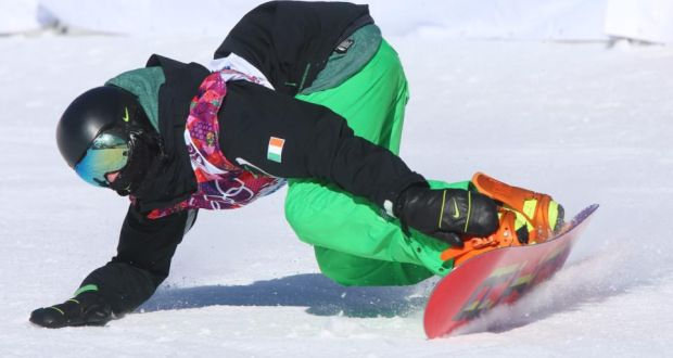 Tough Olympic Debut For Snowboarder Séamus Oconnor