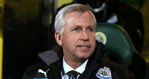 "Newcastle United manager Alan Pardew sais he was ""sad"" to see the club's director of football Joe Kinnear leave St James' Park, even though the two reportedly did not work well together. Photograph:"
