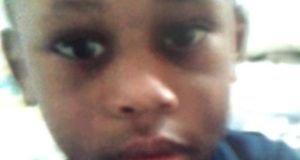Three-year-old Solomon Suremekun who was killed in a lift shaft in the Hynes building in Galway  last month.
