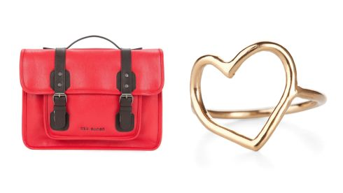 Satchel bag, €135, Ted Baker 18k gold vermeil ring, €49, Chupi at The Loft Market, Powerscourt Townhouse