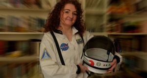 Niamh Shaw: 'I always imagined one day I would don a spacesuit.' Photograph: David Sleator