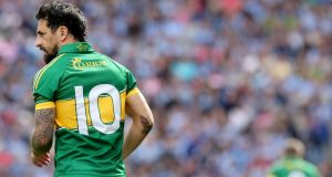 Most football followers know Paul  Galvin only as the sallow, marauding cavalier in green and gold and in a flash, that figure is no more.. Photograph: James Crombie/Inpho