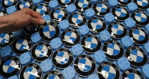 The assembly line at BMW's plant in Dingolfing, Germany. Photograph: Christof Stache/AFP/Getty Images