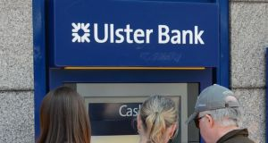 An armed gang used a gas explosion to gain access to the contents of an Ulster Bank ATM in Co Wexford. Photograph:Frank Miller/The Irish Times.