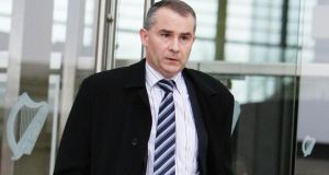 Liam McCaffrey, former chief executive of the Quinn Group, said Seán Quinn reluctantly agreed to Anglo's plan for him to place his 29.3 per cent position in the bank's shares with his family and others. Photograph: Courtpix