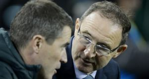 Roy Keane and Martin O'Neill Manager are stepping up their scouting operations over the coming days. Photograph: Alan Betson / THE IRISH TIMES