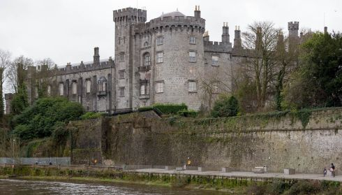 Kilkenny Castle pictured from Johns Bridge. Photograph: Dylan Vaughan