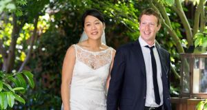 The Facebook chief and his wife made a donation of 18 million shares of Facebook stock valued at more than $970 million to a Silicon Valley non-profit organisation.